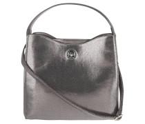 """Handtasche """"Anke"""", Metallic-Look, Schultergurt, Silber"""