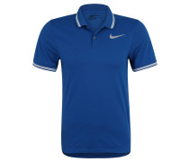 Polo-Shirt, atmungsaktiv, schnelltrocknend, für Herren, Blau