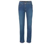 Jeans, Slim Fit, Five-Pocket-Stil, Blau