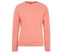 Sweatshirt, Markenlogo, seitlicher Reißverschluss, für Damen