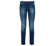 Jeans, Slim Fit, low rise, Blau