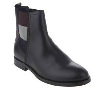 """Chelsea Boots """"G1385ENNY 16A2"""", Leder, Blockabsatz, Schwarz"""