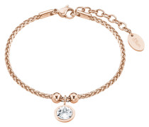 Armband mit Swarovski Kristall 2015164 IP Rose Edelstahl