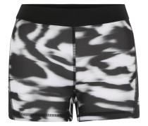 Trainingsshorts, UV-schützend, figurformend, für Damen, Weiß
