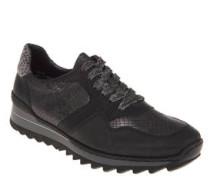 Sneaker, Reptilleder-Look, Fell-Imitat