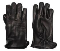 Handschuhe, Hirschleder, Raffung