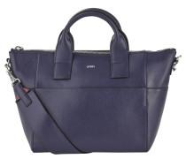 """Handtasche """"Helena"""", Rindsleder, goldfarbene Details, Blau"""
