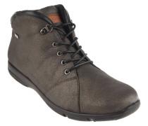 """Boots """"Traveler"""", Glitzer-Optik, Schnürung, Leder-Elemente, Braun"""