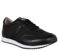 Sneaker low, Textil, Schwarz