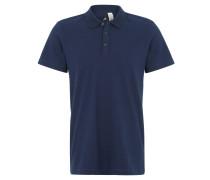 """Poloshirt """"Base Polo"""", Fein-Piqué, für Herren, Blau"""