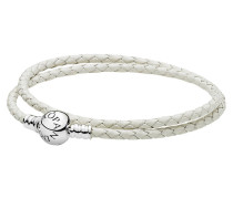 "Lederarmband ""Sentiments of Love 590745CIW"", Kugelverschluss"