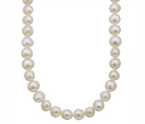 Perlen-Kette Süßwasser-Zuchtperle, 6,0-7,0mm