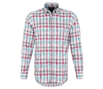Freizeithemd, Button-Down, Casual-Fit, Rot