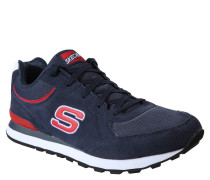 Sneakers, Veloursleder, Air-Cooled Memory Foam, Blau