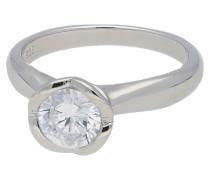 Ring, 925er Sterling Silber, Zirkonia