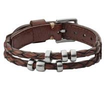 "Armband, ""Vintage Casual"", Leder, braun, JF02345040"