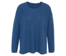 Pullover, Streifen-Look, mit Woll-Anteil