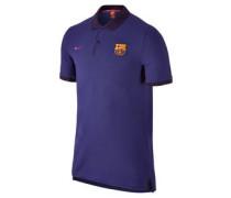 FC Barcelona Poloshirt, Streifen, Polokragen, für Herren