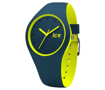 ICE duo winter, Silikonband, zweifarbig, Strichindizes