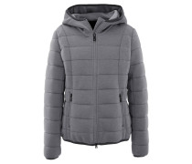 "Steppjacke ""Innsbruck, Kapuze, High-Performance-Stretch, Grau"