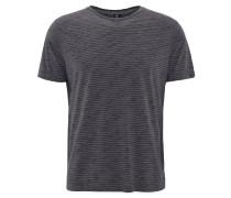 T-Shirt, Baumwollmix, gestreift, Rundhalsausschnitt