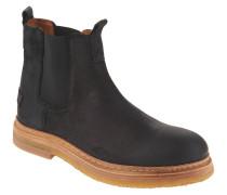 Chelsea Boots, Rauleder, Zuglasche,