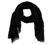 Schal, Streifen-Struktur, halbtransparent