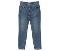 "Jeans ""June"", Skinny Fit, Destroyed-Look, Nieten"