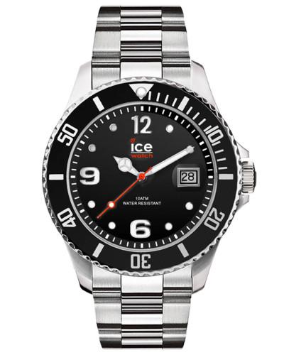 ICE steel - Black silver - Large - 3H 016032 Herrenuhr