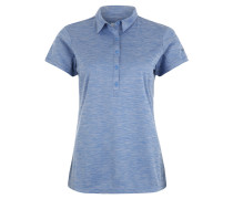 "Poloshirt ""Zero Rules II"", atmungsaktiv, für Damen, Blau"