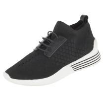 Sneaker low, elastischer Einstieg, kontrastreiche Sohle