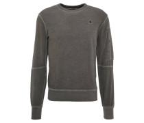 """Sweatshirt """"Stalt"""", abgesetzte Nähte, Ärmeltasche, Grau"""