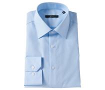 Businesshemd, Slim Fit, Blau