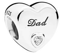 Charm-Anhänger Dad-Herz 796458CZ