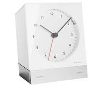 Wecker, Alarm, Quarzuhrwerk, Aluminium