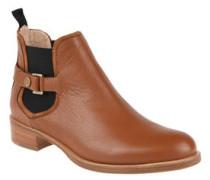 "Chelsea Boots ""Eddy-G"", echtes Leder, Schnalle, Blockabsatz"