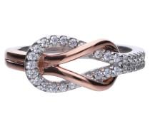 Ring, Sterling Silber 925, -Zirkonia