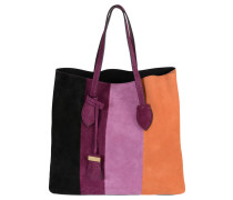 """Handtasche """"Celene"""", Leder, Blockstreifen, Mehrfarbig"""