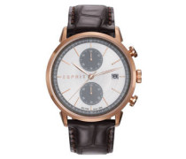 TP10918 Herrenuhr BROWN ES109181002, Chronograph