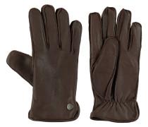 Handschuhe, Leder, grobe Nähte