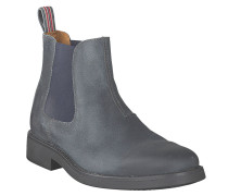 "Boot ""Alvin"", Wildleder, Grau"