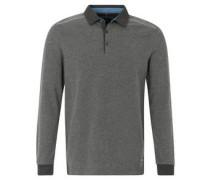 Sweatshirt, Knopfleiste, Kentkragen