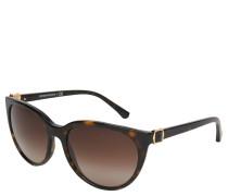 "Sonnenbrille ""EA 4057"", Verlaufsgläser, tortois"
