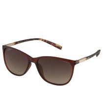 Sonnenbrille, Schmetterlingsform, Metallbügel