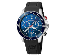 Seaforce Chrono Herrenuhr 01.0643.110, Chronograph