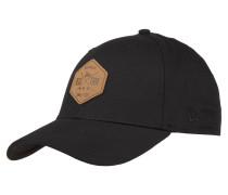 Cap, einfarbig, Logo-Patch, für Herren