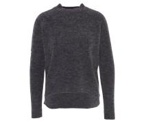 """Pullover """"Ilse"""", meliert, Woll-Anteil, verlängerte Rückenpartie, Grau"""