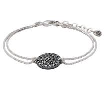 Ambience Armband 151536102, silber- und hämatitfarben