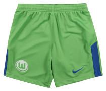 VfL Wolfsburg Shorts Home, 2017/18, für Kinder, Grün