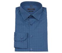 Businesshemd, Body Fit, Blau